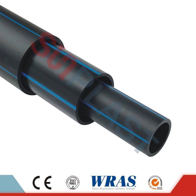 Pipa HDPE (Paip Poli) Dalam Warna Hitam / Biru Untuk Bekalan Air
