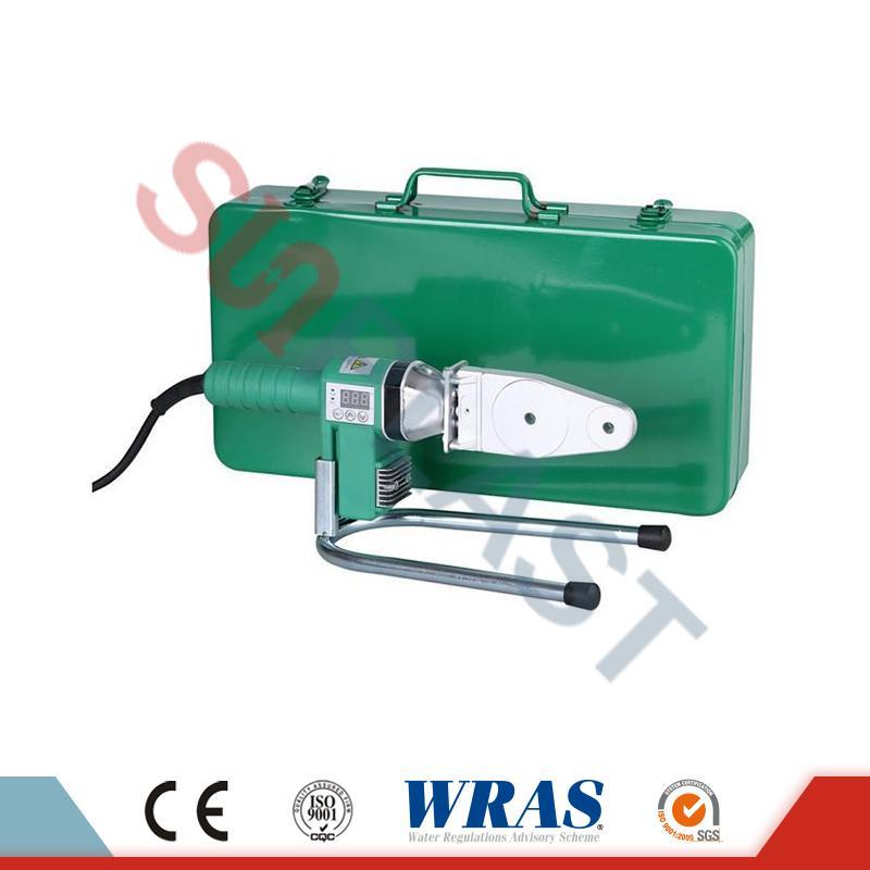 20-63mm Socket Fusion Welding Machine Untuk PPR Pipe & amp; Paip HDPE