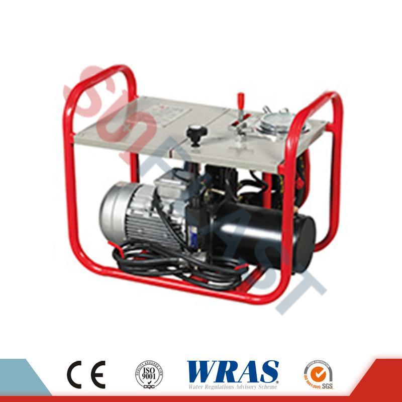 63-200mm manual / hidraulik Butt fusion kimpalan mesin untuk paip HDPE