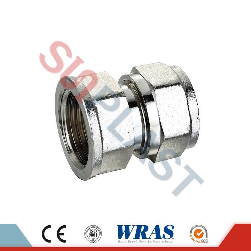Pemompakan Brass Pemasangan Perempuan Untuk PEX-AL-PEX Multilayer Pipe