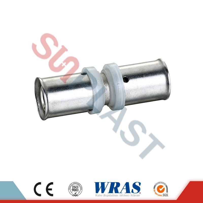 PEX-AL-PEX Coupling Brass Pipe