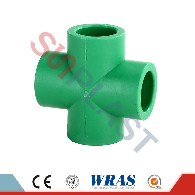 PPR Cross Fittings For Water Pipe